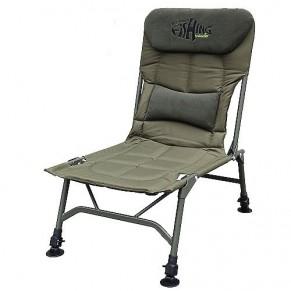 Salford кресло карповое без подлокотников Norfin - Фото