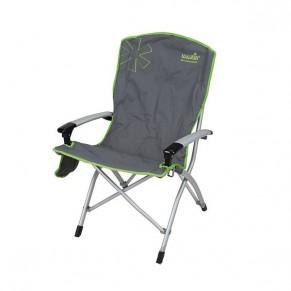 Ulvila NF кресло складное алюмин. (с AL подлокотниками) Norfin - Фото