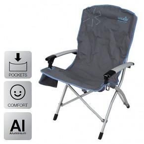Ulvila NFL кресло складное алюмин. (с AL подлокотниками) Norfin - Фото