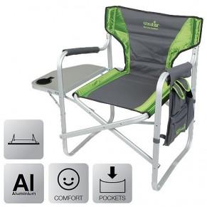 Risor NF кресло складное алюмин. (с откидным столиком) Norfin - Фото