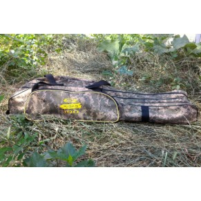 Case 103 Camo чехол-рюкзак для удилищ 3x секц. Kibas - Фото