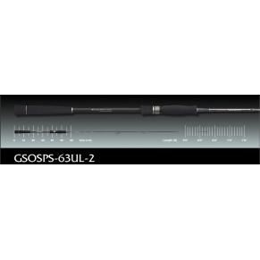 Spada GSOSPS-63UL-2 1,9m 108gr 28-84gr удилище Graphiteleader - Фото