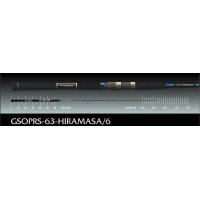 Paragio GSOPRS-63-Hiramasa/6 1.81m 100-210gr удилище Graphiteleader