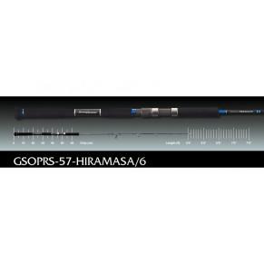 Paragio GSOPRS-57-Hiramasa/6 1.71m 120-230gr удилище Graphiteleader - Фото